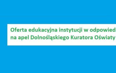 Oferta edukacyjna instytucji